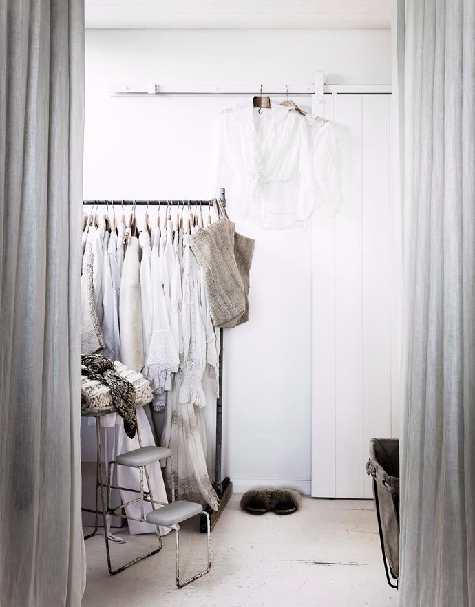 """Not sure how to keep your wardrobe organised? Its time to [cull your wardrobe with these top tips](https://www.homestolove.com.au/wardrobe-cull-tips-20206