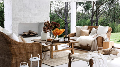 15 outdoor rugs to complete an alfresco setting