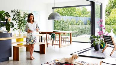 Artist Ali McNabney-Stevens' house is a colourful escape