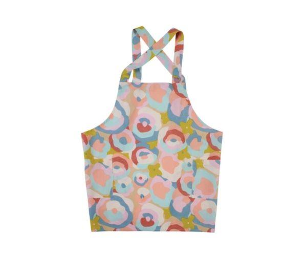 """Alice cross back apron, $129, [Sage & Clare](https://sageandclare.com/collections/mums-the-word/products/alice-cross-back-apron