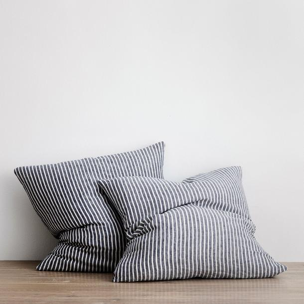 "Set of 2 Linen Euro Pillowcases - Indigo Stripe, $100.00, [Cultiver](https://cultiver.com.au/products/set-of-2-linen-euro-pillowcases-indigo-stripe|target=""_blank"")"