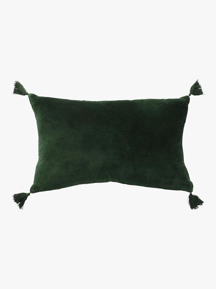 "Velvet Petite Cushion, $84.00, [L&M Home](https://www.lmhome.com.au/collections/cushions-online/products/velvet-petite-cushion-3|target=""_blank""