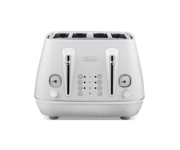"DeLonghi Distinta Moments 4 slice toaster, $158.99, [DeLonghi](https://www.delonghi.com/en-au/products/kitchen/kitchen-appliances/toasters/distinta-moments-toaster-white-ctin4003w-0230140074|target=""_blank""|rel=""nofollow"")"