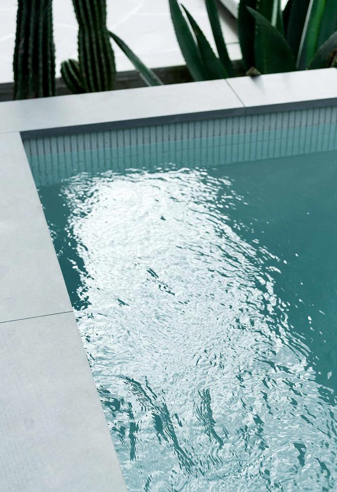 **Plunge pool** Having their own pool to float around in makes the compact home seem like a mini oasis.