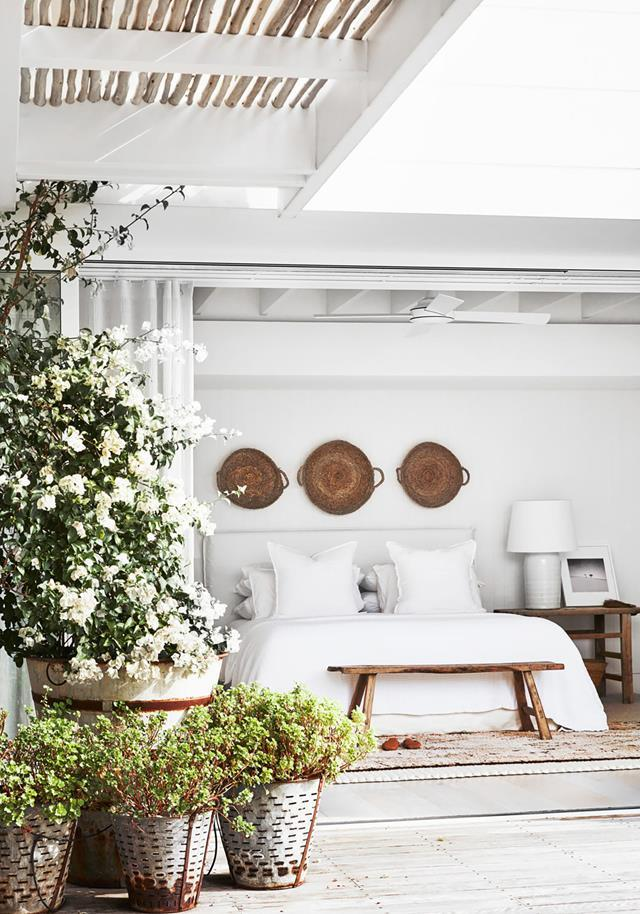"""In a [Palm Beach waterfront property](https://www.homestolove.com.au/waterfront-abode-with-a-bahamas-inspired-aesthetic-20907