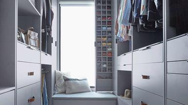 5 tips for creating the perfect walk-in wardrobe for your home