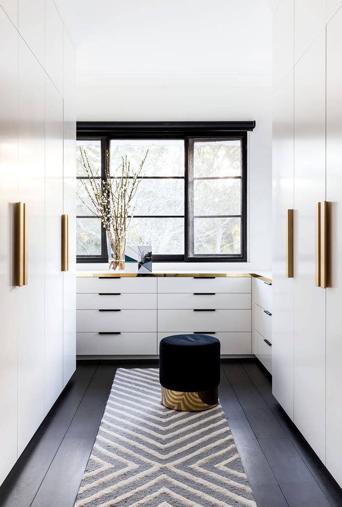 """**ADD A WONDERFUL WALK-IN WARDROBE**<br><br>If you have the space for it there is nothing more luxurious than a dedicated [walk-in wardrobe](https://www.homestolove.com.au/luxury-walk-in-wardrobe-design-ideas-18929
