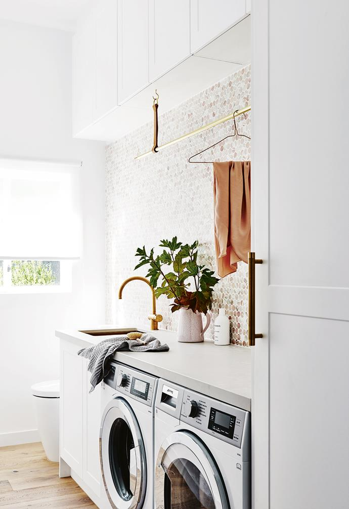 """**LAUNDRY LOVE**<br><br>Its one of the hardest working spaces in the house but can often be considered be an afterthought when it comes to the renovation design process. Creating a designated and [functional laundry space](https://www.homestolove.com.au/laundry-inspiration-gallery-17912