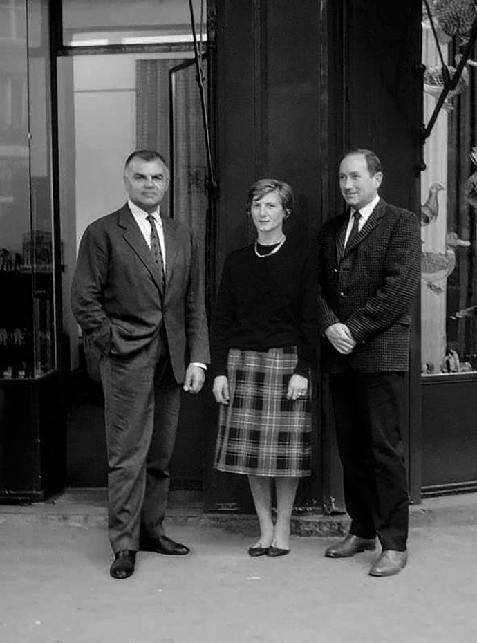 Christiane Gautrot, Desmond Knox-Leet and Yves Coueslant founded Diptyque.