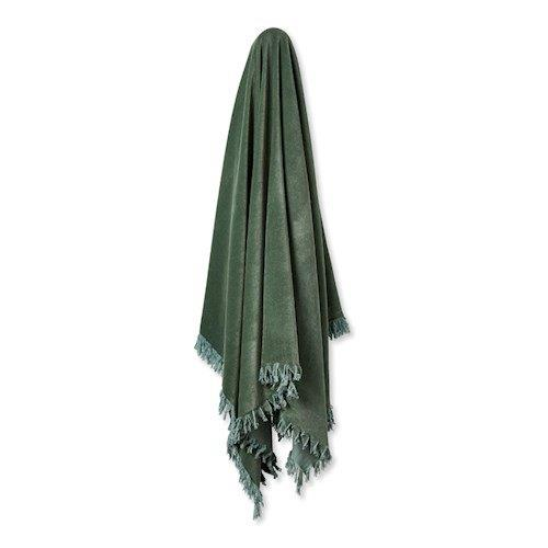"Elwood Sage Velvet throw, $129.99, [Adairs](https://www.adairs.com.au/homewares/throws/adairs/elwood-sage-velvet-throw/|target=""_blank""