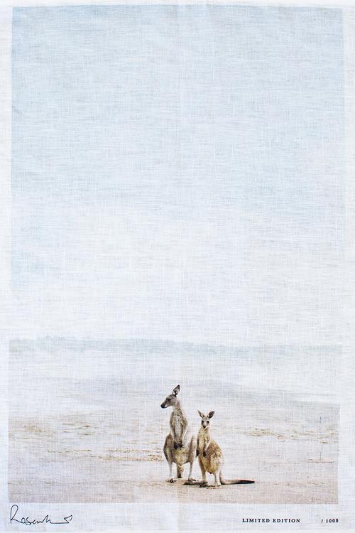 "Kangaroos Souvenir tea towel, $68, [Kara Rosenlund](https://shop.kararosenlund.com/kangaroos-souvenir-tea-towel/|target=""_blank""|rel=""nofollow"")"