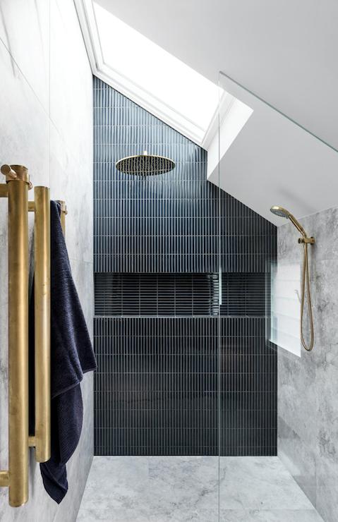 Raku Cobalt finger mosaic tiles, Teranova. Marble tiles, Concept Tiles and Surfacess. Tapware, Brodware.