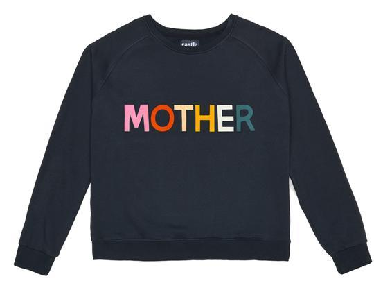 "Mother sweater, $95, [Castle](https://www.castleandthings.com.au/collections/clothing/products/mother-sweater|target=""_blank""