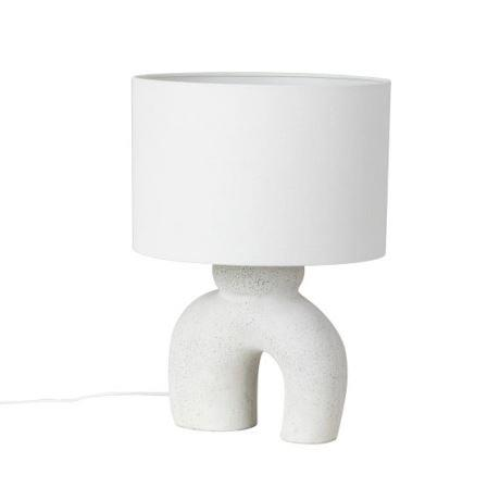 """ZEL Table Lamp - White, $89, [Freedom](https://www.freedom.com.au/lighting/lights/all-lights/24240185/zel-60w-e27-table-lamp-white?reflist=Product%20Search%20Listing