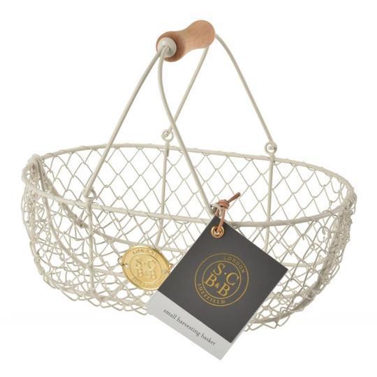 "Sophie Conran Harvesting Basket in Buttermilk Cream, $31.95, [Botanex](https://botanex.com.au/products/sophie-conran-harvesting-basket-trug-small-cream|target=""_blank""|rel=""nofollow"")"