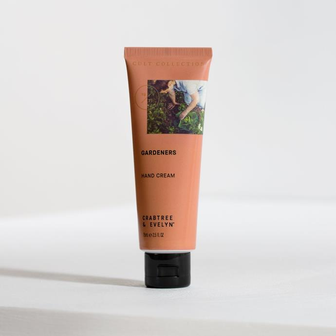 """Gardeners hand cream, $34.50, from [Crabtree & Evelyn](https://www.crabtree-evelyn.com.au/collections/hand-care/products/8177