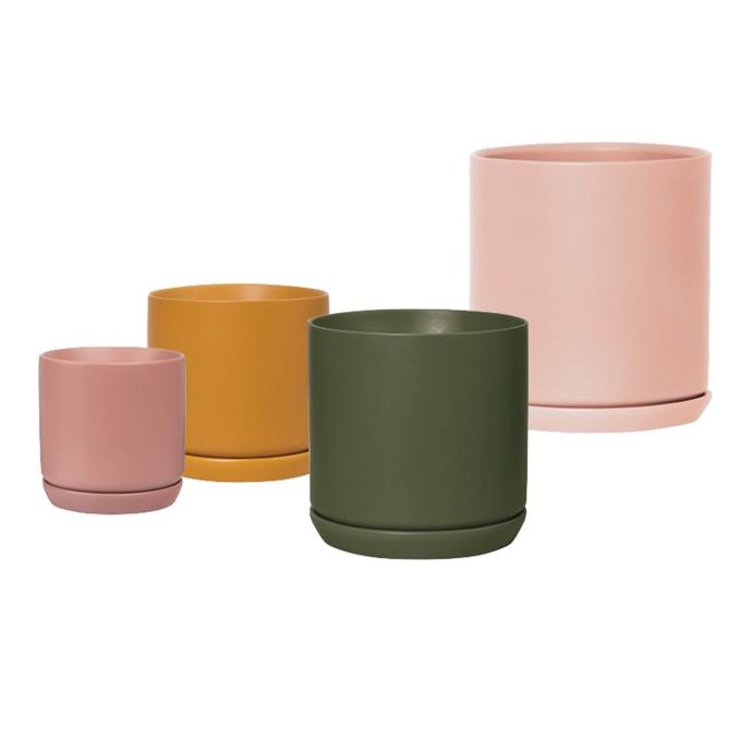 """'Oslo' planters, from $16.50, [Sunday Society](https://www.sundaysociety.com.au/products/osloplanter