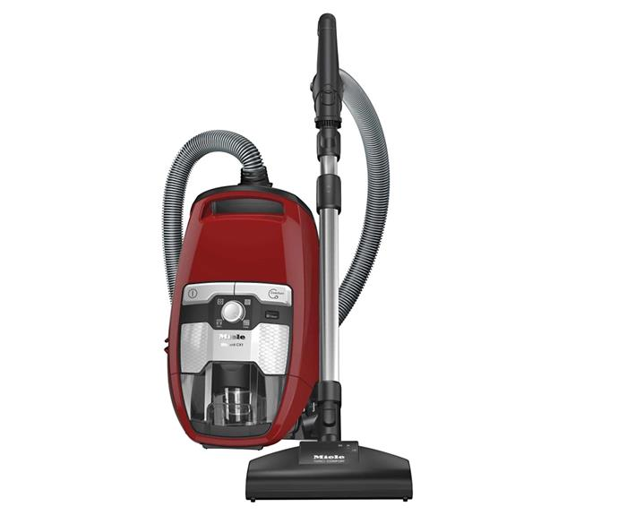 "Miele Blizzard CX1 Cat & Dog Bagless Vacuum, $599, [The Good Guys](https://www.thegoodguys.com.au/miele-blizzard-cx1-cat-and-dog-bagless-vacuum-10502220|target=""_blank""