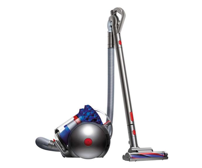"Dyson Cinetic Big Ball Animal Barrel Vacuum, $749, [Myer](https://www.myer.com.au/p/dyson-cinetic-big-ball-animal-barrel-vacuum-blue-300280-01|target=""_blank""