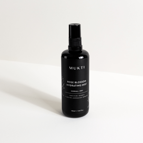 "Made of hand-picked, organic Bulgarian rose petals combined with the power of Australian native botanicals to regenerate and defend your skin, hydrates and sooth your skin without any nasties.  Mukti Organics Rose Blossom Hydrating Mist 100ml, $54.95, [Adore Beauty](https://www.adorebeauty.com.au/mukti-organics/mukti-organics-rose-blossom-hydrating-mist-100ml.html?istCompanyId=6e5a22db-9648-4be9-b321-72cfbea93443&istFeedId=686e45b5-4634-450f-baaf-c93acecca972&istItemId=itxlpwlal&istBid=tztx&gclid=Cj0KCQjwhZr1BRCLARIsALjRVQPLFDXscsskzWEBTXbw-hExnAD8AXSo_Wmv_y8Bn1zhopWPGc7olrQaAkSwEALw_wcB|target=""_blank""