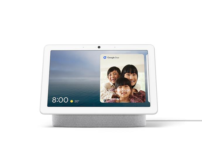 "Google Nest Hub Max, $299, [Google](https://store.google.com/|target=""_blank""
