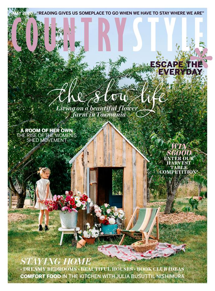 "12-month magazine subscription, $69.99, [Magshop](https://www.magshop.com.au/country-style/L20MEDM?utm_source=social&utm_medium=insta&utm_campaign=hmg&utm_content=290420#|target=""_blank""