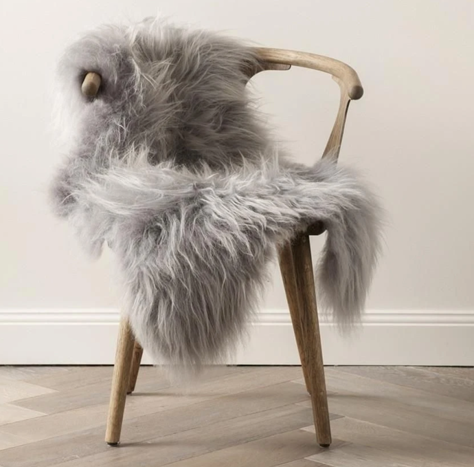 "Icelandic Sheepskin in Silver - Medium, $199, [Curious Grace](https://curiousgrace.com.au/products/icelandic-sheepskin-in-silver-medium?_pos=9&_sid=d503e8fe9&_ss=r|target=""_blank""