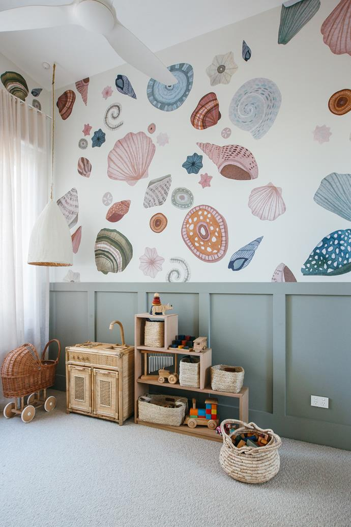 "Removable wall stickers by Farrah's Stone, available at [KK Homewares](https://www.kyalandkara.com/shop/seashell-wall-stickers/|target=""_blank""