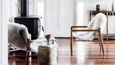 Winter-ready your home with sheepskin