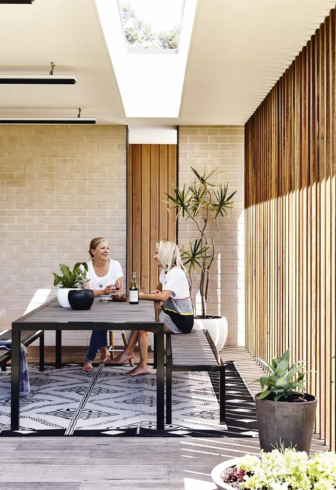 """Andrea put her keen eye for interiors to good use and was involved in the interior design process with Kanako Nakanishi, also of [Pleysier Perkins](https://www.pleysierperkins.com.au/