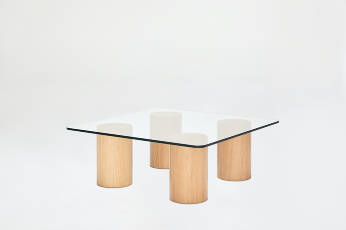"""Tide Coffee Table in Oak, $1,495, [Sarah Ellison](https://sarahellison.com.au/collections/all/products/tide