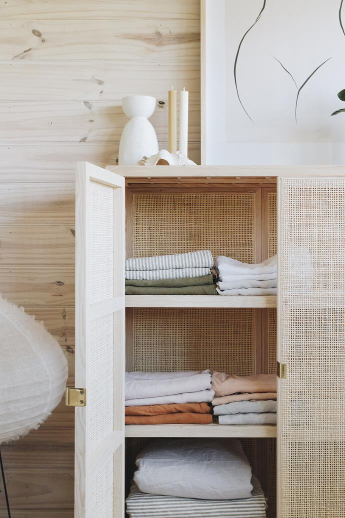 Store your linen in a dry cupboard away from direct sunlight.