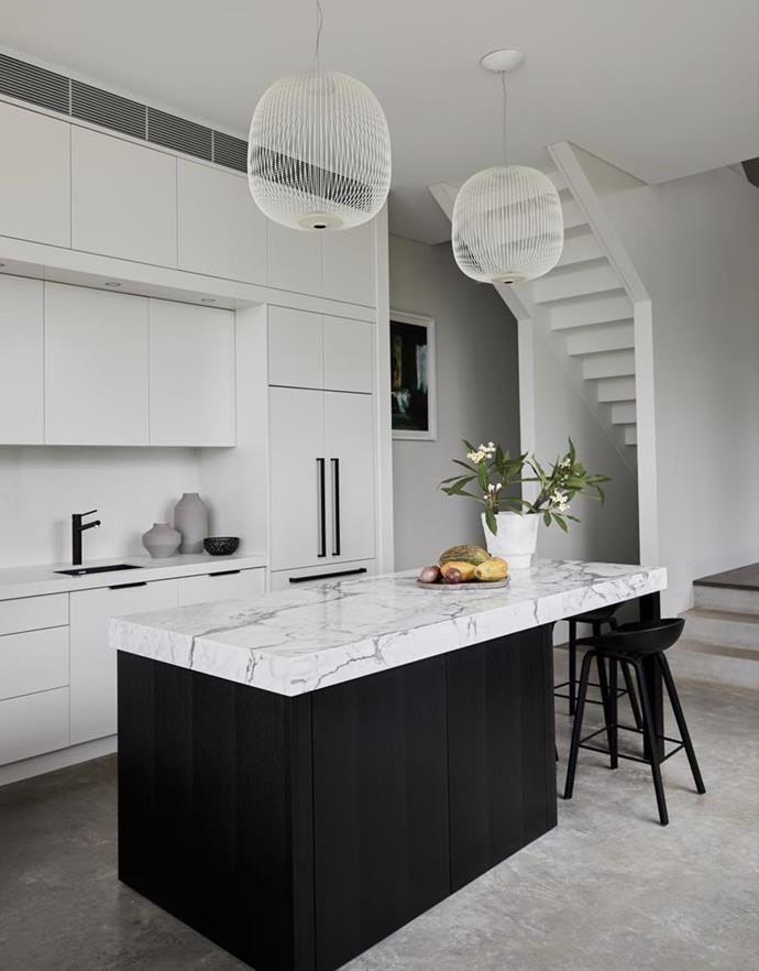 "White Spokes 2 pendant by Garcia Cumini for Foscarini, from [Space](https://www.spacefurniture.com.au/|target=""_blank""