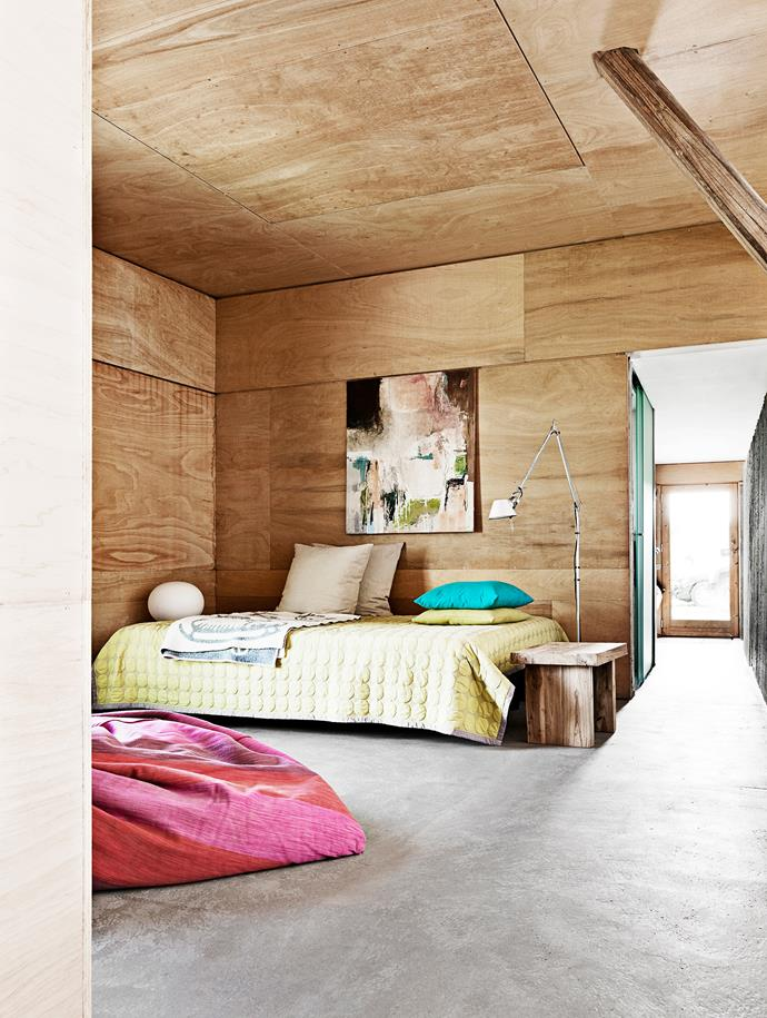 """This [former hens' house was converted into a compact home](https://www.homestolove.com.au/a-rustic-barn-renovation-4190