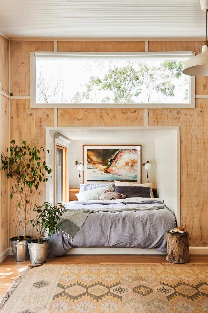 """In [Harriet Birrell's nature-inspired home in the Bellarine Peninsula](https://www.homestolove.com.au/harriet-birrell-home-bellarine-peninsula-21082