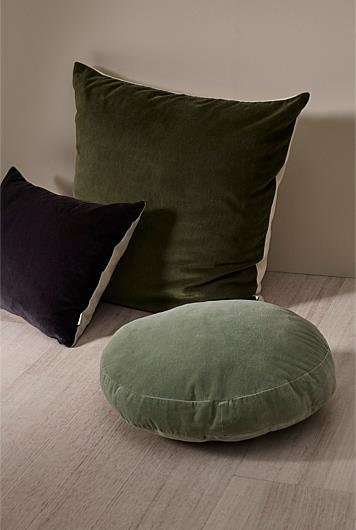 """Odos Cushion in Charcoal, $49.95, [Country Road](https://www.countryroad.com.au/shop/home/home-accessories/60240520-109/Odos-35x50-Cushion.html