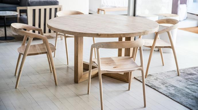 "Maki Dining Chair, Natural, $560, [MCM House](https://www.mcmhouse.com/collections/dining-chairs/products/maki-dining-chair|target=""_blank""