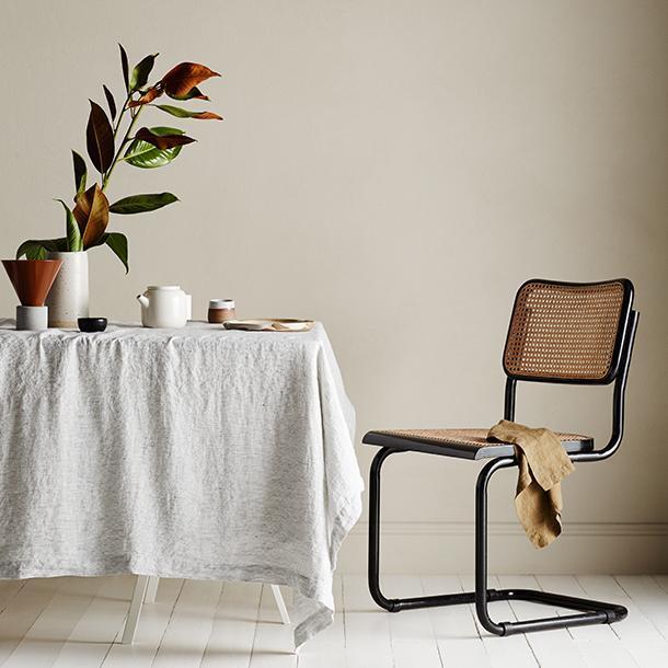 "Linen Tablecloth - Pinstripe, $110, [Cultiver](https://cultiver.com.au/products/linen-tablecloth-pinstripe|target=""_blank""|rel=""nofollow"")"