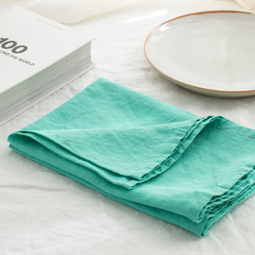 "Set of French linen tea towels in bright mint, $29.95/2, [I Love Linen](https://www.ilovelinen.com.au/set-of-french-linen-tea-towel-2-in-bright-mint|target=""_blank""