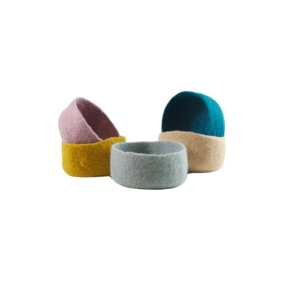 """Oon Home 'Vadu' small felt bowls, $24.99, [Hard To Find](https://www.hardtofind.com.au/147753_vadu-small-felt-bowl-various-colours