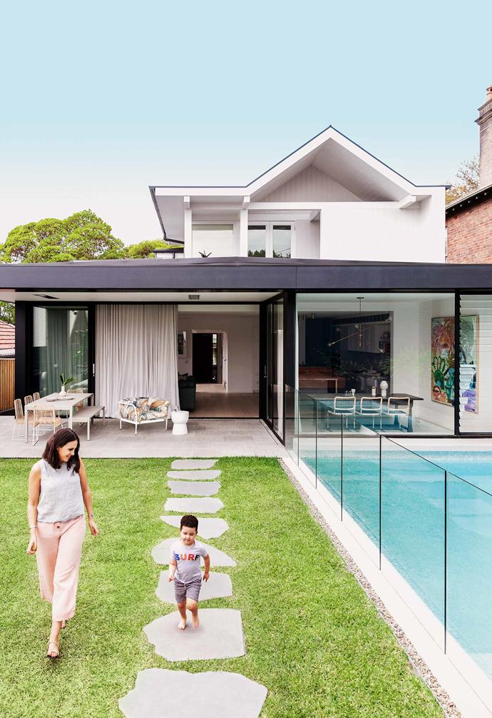 "**Outdoor area** The family loves entertaining and their [Beefeater](https://www.beefeaterbbq.com/en-au/|target=""_blank""