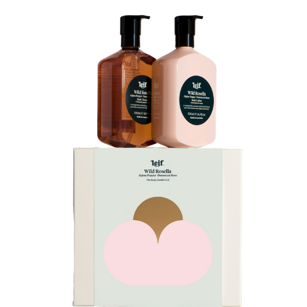 "Leif Wild Rosella Gift Pack, $99, [Eco Beauty Sanctum](https://ecobeautysanctum.com.au/product/leif-wild-rosella-gift-pack-large/?gclid=CjwKCAjwkun1BRAIEiwA2mJRWSRpR5Qo9githLE0mwUiWBJmi0EjGu2p4pQWRjzgOjyuwEvTUHvh-BoCoRUQAvD_BwE|target=""_blank""|rel=""nofollow"")"