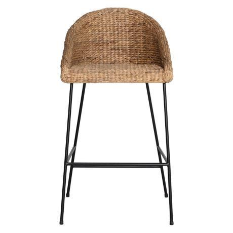 """DELFINA Bar Stool in Natural & Black, $179, [Freedom](https://www.freedom.com.au/dining-kitchen/dining-chairs/all-dining-chairs/24121798/delfina-bar-stool-natural-black?reflist=Product%20Search%20Listing