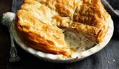 A classic country chicken pie recipe