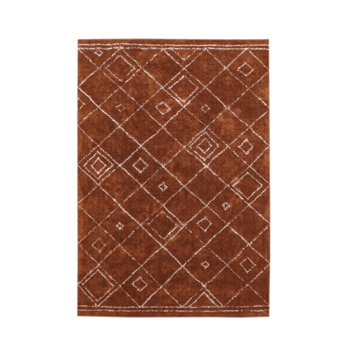 """Cinnamon Siena cotton rug, from $349, [Temple & Webster](https://www.templeandwebster.com.au/Cinnamon-Siena-Cotton-Rug-TMPL1629.html