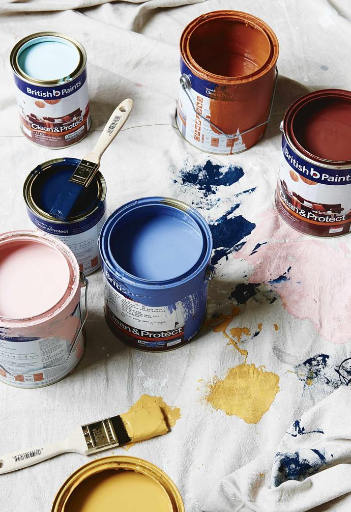 """**PESKY PAINT TINS**<br><br>If you've just finished a [DIY paint job](http://www.homestolove.com.au/how-to-get-the-perfect-paint-finish-4182