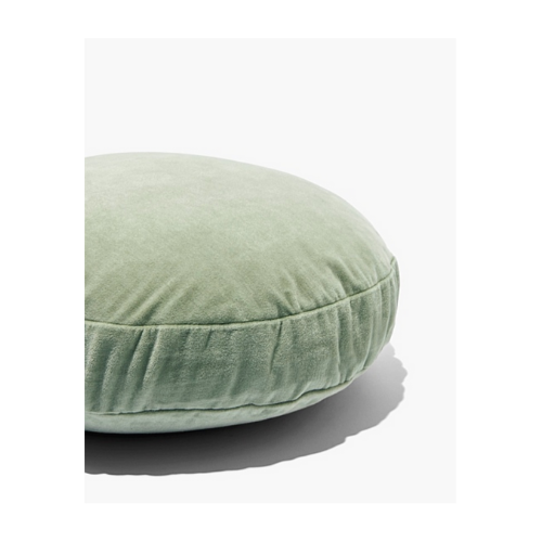 "Odos Round Cushion, $49.95, [Country Road](https://www.countryroad.com.au/shop/home/bedroom/new-in/60240251/Odos-Round-Cushion.html|target=""_blank""