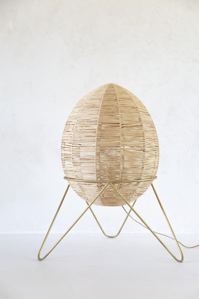 """Egg Lamp - Large, $520, [Tigmi Trading](https://tigmitrading.com/collections/lighting-all/products/egg-lamp-large
