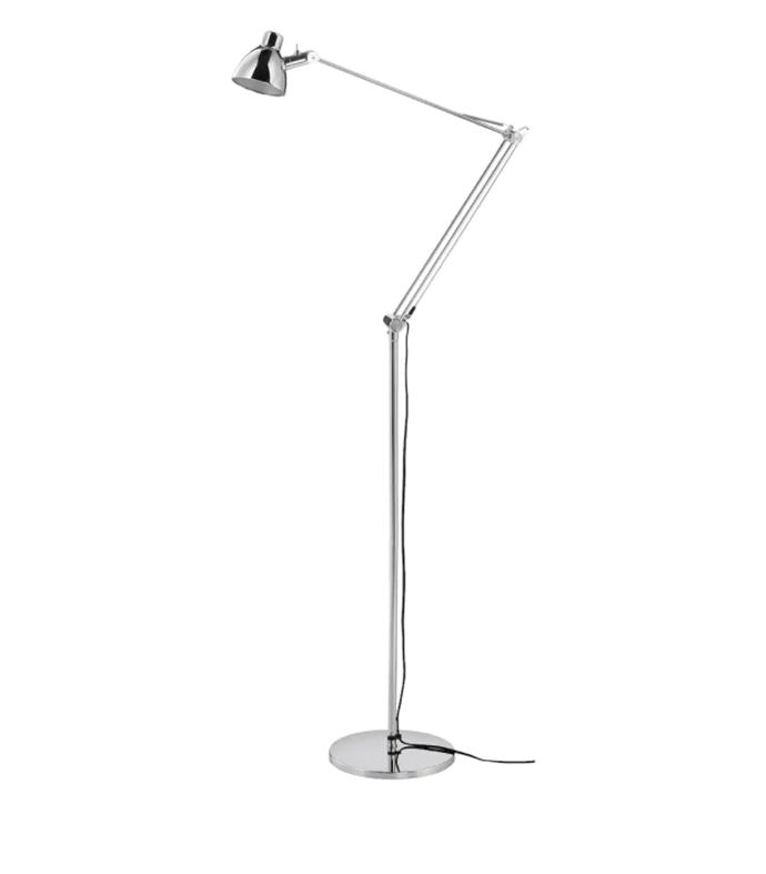 "ANTIFONI Floor/reading lamp, nickel-plated, $79, [Ikea](https://www.ikea.com/au/en/p/antifoni-floor-reading-lamp-nickel-plated-10304727/|target=""_blank""|rel=""nofollow"")"
