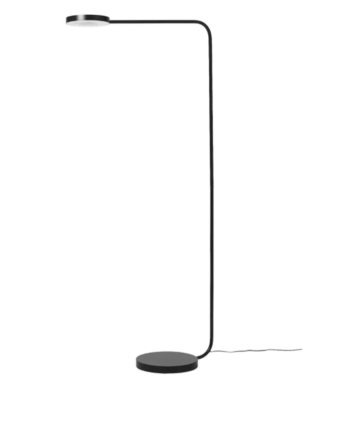 "YPPERLIG LED floor lamp, dark grey, $129, [Ikea](https://www.ikea.com/au/en/p/ypperlig-led-floor-lamp-dark-grey-10349896/|target=""_blank""|rel=""nofollow"")"